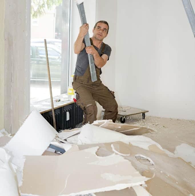 Abriss- und Abbrucharbeiten durch Rumpellotte in NRW