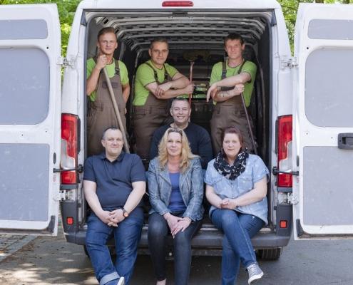 Das Team von Rumpellotte in Oberhausen